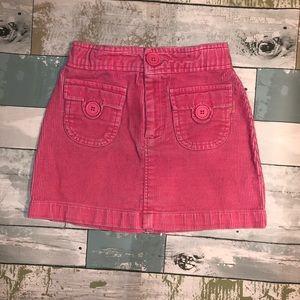 Baby Gap Toddler Girls Corduroy Skirt Size 4